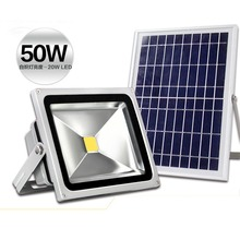 50W solar flood light floodlight energy saving lighting stalls lights lawn lamp multi-purpose lamp lithium battery