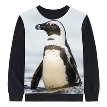 2018 boy clothing tees autumn tops baby girl brand Long sleeve tops child The penguin Children clothing kids t shirt children(China)