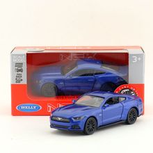Welly DieCast Metal Model/1:36 Scale/2015 FORD MUSTANG GT Toy Car/Pull Back Educational Collection/Children's gift/Collection