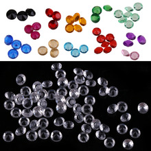 5000pcs 4.5mm Acrylic Crystals Diamond Confetti Wedding Table Scatters Decoration Event Party Centerpiece Supplies