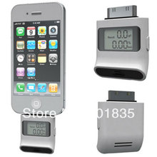 Digital LCD Breath Alcohol Tester iphone 4 Display Professional Breathalyzer for iPhone 4 4S iPad white  Free Shipping