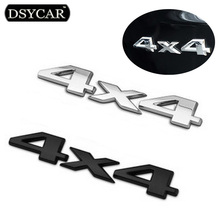 DSYCAR 3D 4x4 Four wheel drive Car sticker Logo Emblem Badge Decals Car Styling Accessories for Frod Bmw Lada Honda Audi Toyota(China)