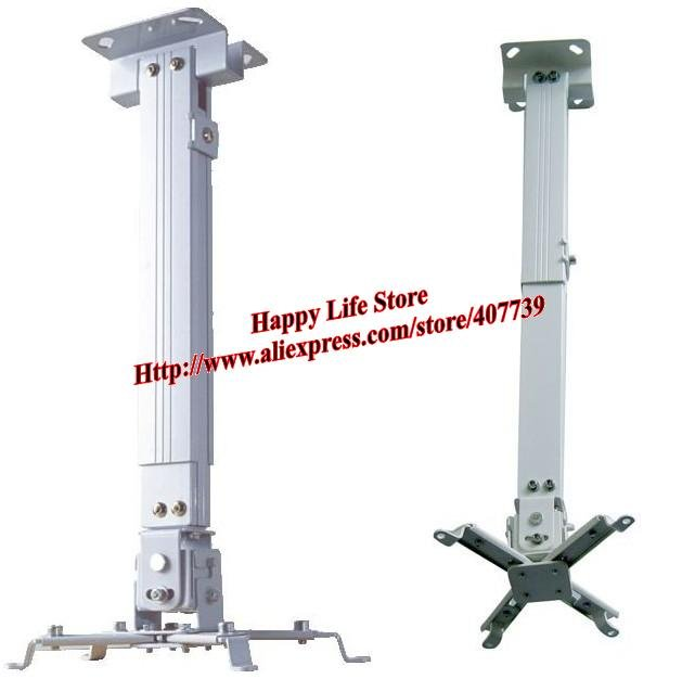 wholesale 15pcslots alloy universal lcd durable projector ceilingwall mount bracket height - Projector Wall Mount