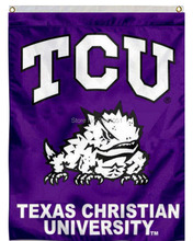 7 Color Texas Christian University TCU American Outdoor Indoor Football College Flag 3X5 Custom USA Any Hockey Flag(China)