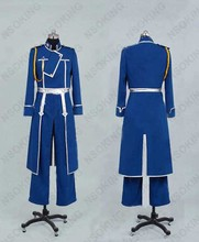 New Fullmetal Alchemist Roy Mustang Cosplay costume Custom Made