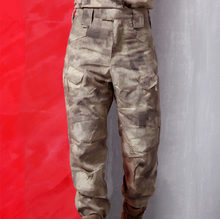 New Consul IX7 Multiple-Pockets Tactical Mens Pants Overalls Special Forces Combat Styles Military Cargo Camouflage TrousersОдежда и ак�е��уары<br><br><br>Aliexpress