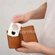 Hot Sale Portable Cute Portable Pocket Fold Switch LED Card Night Lamp Put In Purse Wallet Convenient Light New Design(China)