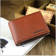 Buy 2 pieces of discount 10% 2016 news A classic practical men wallets Colorful Work Fine style are horizontal and vertical