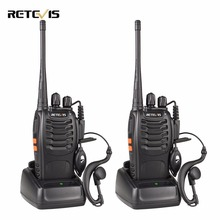 2pcs Retevis H777 Walkie Talkie 3W UHF 400-470MHz Frequency Portable Radio Set Ham Radio Hf Transceiver Handy Two Way Radio(China)