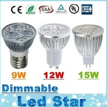 CREE 9W 12W 15W Led Spot Bulbs Light E27 E26 B22 MR16 GU10 Led Dimmable Lights Lamp Warm/Natrual/Cold White AC 110-240V/12V