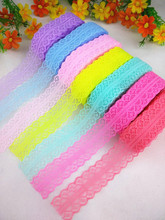 Hot! Free shipping 10 yards of beautiful lace ribbon, 10 yards, 2.8 cm wide, DIY Jewelry / Clothing accessories