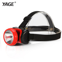YAGE 3586 headlight led flashlight Hiking lamp head lamp mini touch 2-mode switch convenient Lead acid outdoor waterproof lamp