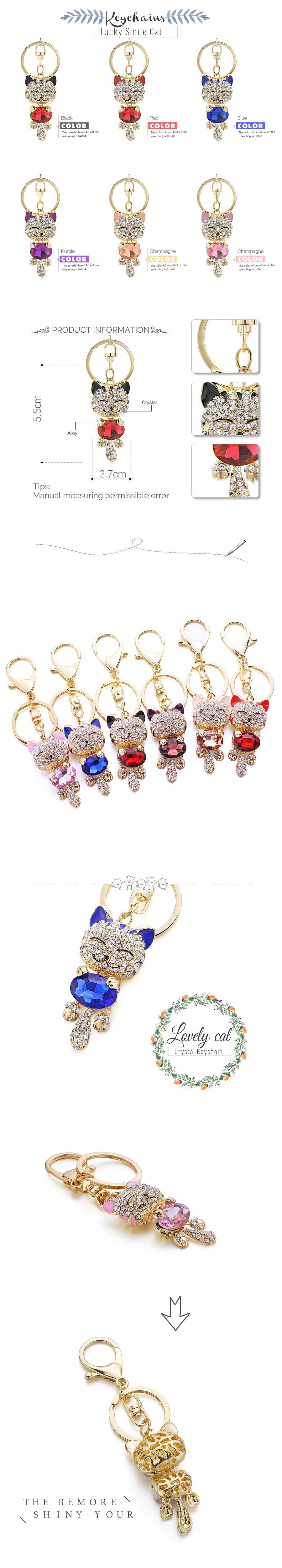 CAT CRYSTAL KEYRINGS CUTE CAT CRYSTAL KEYRINGS-Cat Jewelry-Free Shipping CUTE CAT CRYSTAL KEYRINGS-Cat Jewelry-Free Shipping HTB13D0YRXXXXXbUaXXXq6xXFXXXT