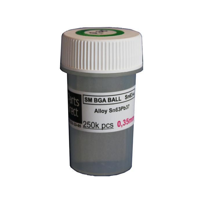 Solder balls for BGA 0.35mm 250k, Leaded<br><br>Aliexpress