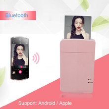 For LG PD251 PD261 Bluetooth Wireless Mobile Phone Printers Mini Portable Color Photo Mobile USB Phone Printer for Polaroid
