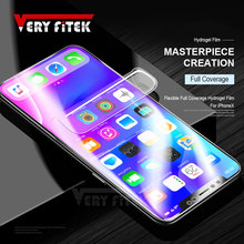 Buy VERYFiTEK Full Cover Soft Hydrogel Film iphone X 8 7 6s 6 plus Soft Film iphone 7 plus Screen Protector Film (Not Glass) for $3.42 in AliExpress store