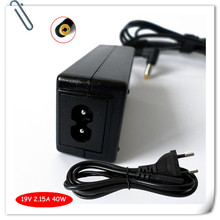 New Mini Ac Adapter Charger & Plug for Acer Aspire One 725 756 D270 40w + Cord universal laptop adapter caderno carregador
