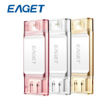 Original Eaget I60 Extreme USB 3.0 Flash Drive 32GB 64GB 128GB Pen Drive 5Gbps Super Speed USB Memory Stick for PC/Apple Devices(China)