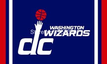 Washington Wizards flag 3x5 FT Banner 100D Polyester Flag Brass Grommets(China)