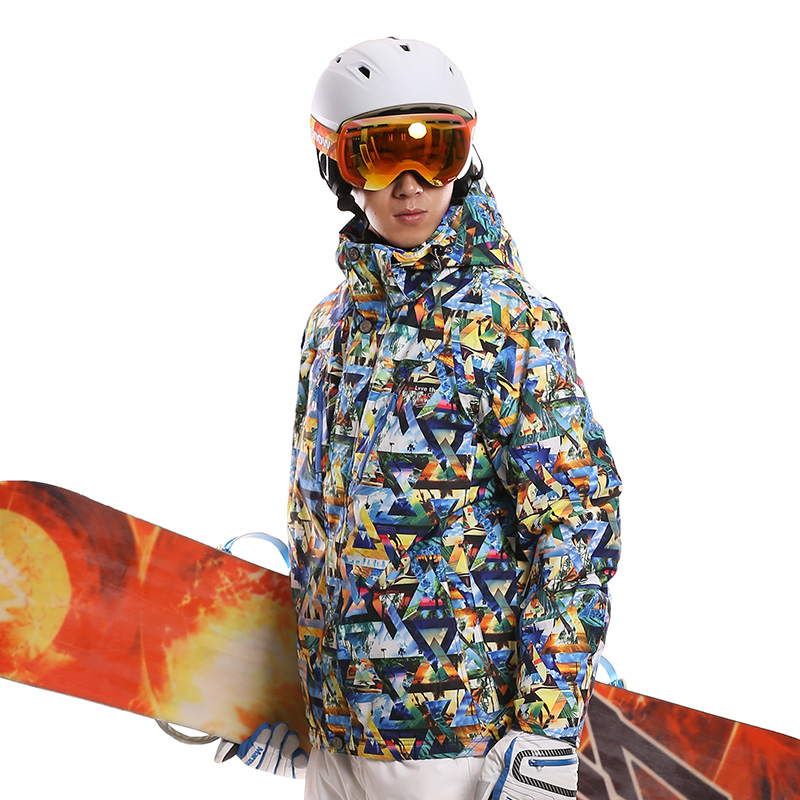 2016 Winter Outdoor Ski Jacket Skiing Clothing Thickening Thermal Windproof Waterproof Snowboarding Outerwear <br><br>Aliexpress