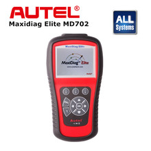 Original Autel Maxidiag Elite MD702 ALL System Car Scan Diagnostic Tool For European Vehicle Free Online Update DHL Free(China)