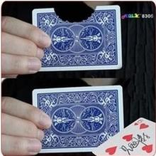 Bite Out Card,card magic,illusions,card tricks stage magic,mental free shipping(China)