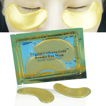 Natural Crystal Collagen Gold Powder Eye Mask Anti-Aging Face Care Sleeping Eye Patches Eliminates Dark Circles And Fine Lines