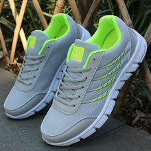 Men Casual Shoes Brand Men Shoes 2017 Summer Lace Up Air Mesh Bleathable Flat Trainers Shoes Sapatas Dos Homens