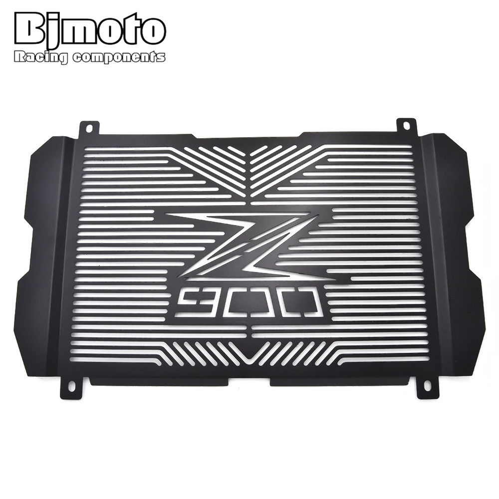 BJMOTO New Motorbikes Parts For Kawasaki Z900 Z 900 2017 Motorcycle Radiator Guard Radiator Grille Cover<br>