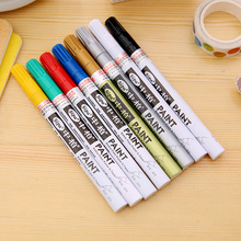 7 Colors 0.7mm Extra Fine Point Paint Marker Non-toxic Permanent Marker Pen DIY Art Marker School and Office Supplies
