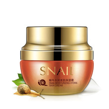 2018 Snail Essence Face Cream Serum 50g Whitening Anti-wrinkle Anti Aging Hydrating Moisturizing Facial Creams Korean Cosmetics(China)