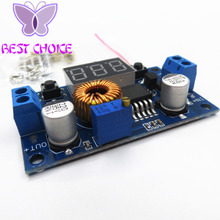 5A 75W XL4015 DC-DC Converter Adjustable Step-Down Module 4.0-38V to 1.25V-36V DIY Adjustable Power Supply Free Shipping