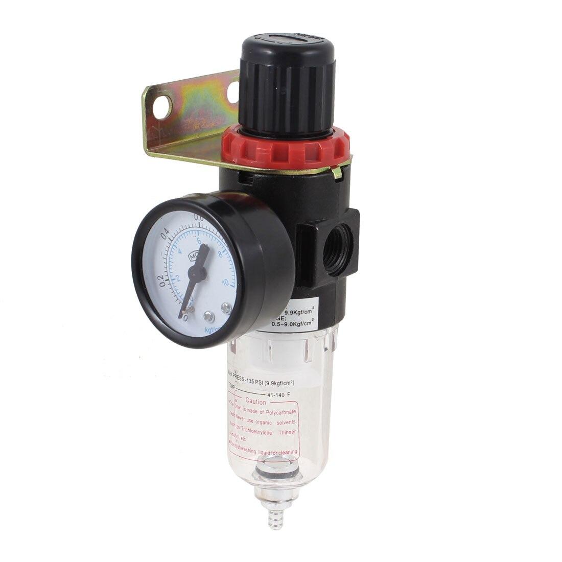 UXCELL Afr-2000 Pneumatic Filter Regulator Air Treatment Unit W Pressure Gauge<br><br>Aliexpress