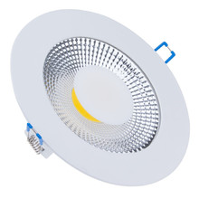 Ultra Thin New Design 5W 10W 15W LED COB Slim Round Square Ceiling Recessed Grid Downlight  High Efficiency LED Driver