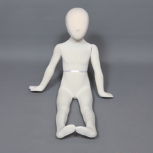 New design kids mannequin child mannequin soft flexible mannequin