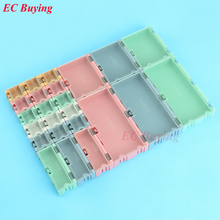 1 set=24 pcs SMD SMT IC Electronic Component Mini Storage Box and Practical Jewelry Storaged Case Assorted Kit