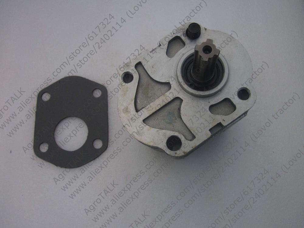 Jinma JM354 with engine Jiangdong TY395IT, the gear pump CBN-316<br>
