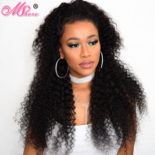 MShere Hair Indian Deep Curly Hair Extension Natural Color Non-Remy 100% Human Hair Weaving 1 pc 10-28 Inches