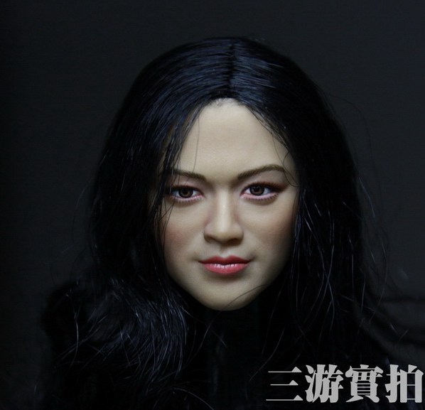 1:6 scale Female Figure accessories Asian pretty girl Tang Wei head shape carved for 12 Action figure doll<br><br>Aliexpress