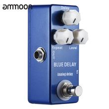 Mini Analog Delay Guitar Effect Pedal True Bypass Zinc-aluminium Alloy Body(China)