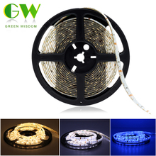 335 Side Emitting LED Strip Lights 12V Waterproof / Non Waterproof Indoor Decoration Side View Neon Tape 5M 300LEDs(China)