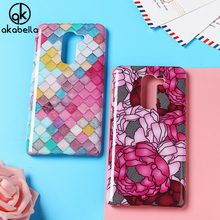 AKABEILA Plastic Phone Cases for Huawei Honor 6x 2016 Cover GR5 2017 BLN-AL10 Honor Play 6X Honor6X Case Decal DIY Bag Skin(China)