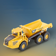 Free Shipping/Siku 1:87 Scale/Volvo Dumper Truck/Engineering Car Toy/Diecast Educational Collection For Children/Festival Gift