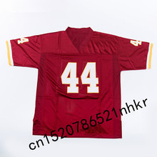 Retro star #44 John Riggins Embroidered Name&Number Throwback Football Jersey(China)