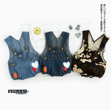 100% Cotton Baby Romper Overalls 2017 Summer Infant Denim Printed Suspenders Shorts Toddler Climbing Clothes