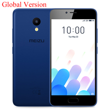 MEIZU M5C M5 C 4G LTE 2G 16G Cell Phone MTK6737 Quad Core 64Bit CPU 5.0inch HD Screen 3000mAh Battery Mobile Phone