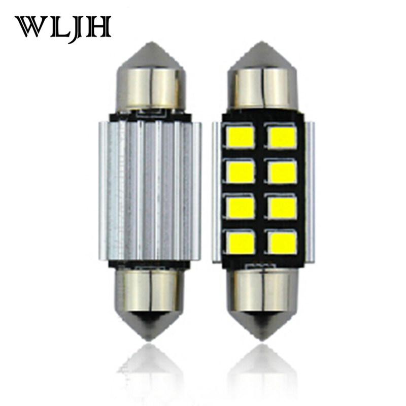WLJH 1x Canbus 36mm 39mm 41mm 31mm For Samsung LED Chip 2835 6418 C5W External Interior Lights 12v Car Light Source Parking<br><br>Aliexpress