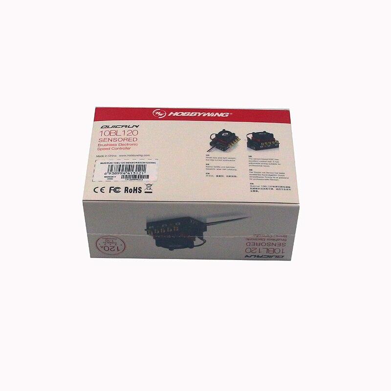 HobbyWing Hobby Wing QuicRun 10BL60/120 Sensored 30108000 30125000 1/10 RC car ESC brushless<br>