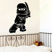 Ninjago Lego Vinyl Decal Sticker Kids Boy Room Decor Children's Play Wall Stickers - POOMOO store