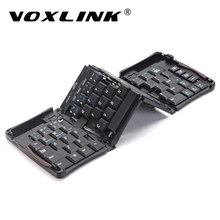 VOXLINK Portable Intelligent Folding Keyboard For iphone ipad Upgraded Bluetooth Wireless Keyboard Pocket Keypad For PC Tablet
